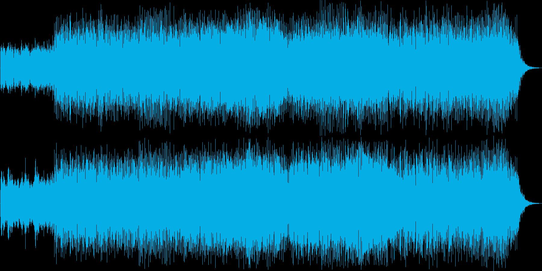 ECM,ヒーリング系Jazz,Bossaの再生済みの波形