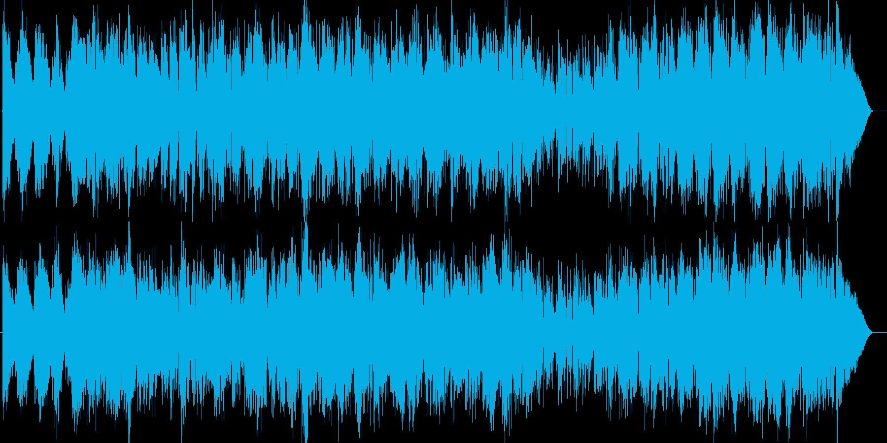 少しクラシカルな弦楽器系のポップスの再生済みの波形