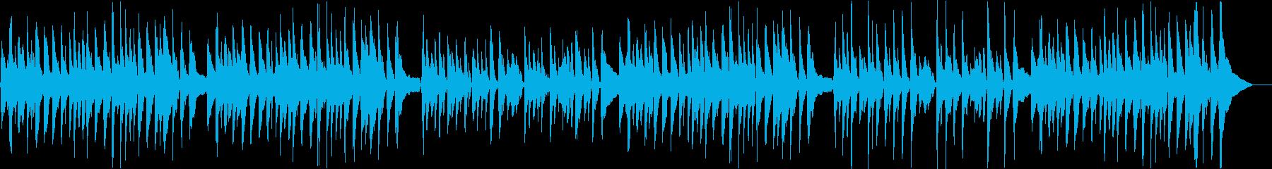 ウクレレが演じるクリスマス・キャロルの再生済みの波形