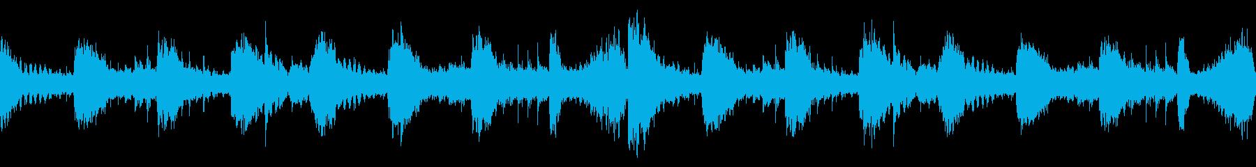 アンビエント、シネマティック系ループの再生済みの波形