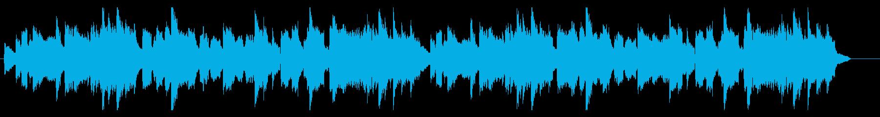 心に寄り添うような曲_ヘッケルフォンの再生済みの波形