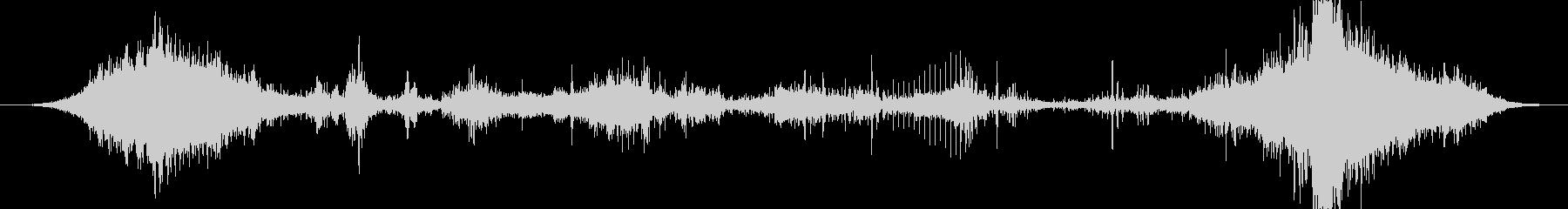 トランジション プロモーションパッド29の未再生の波形