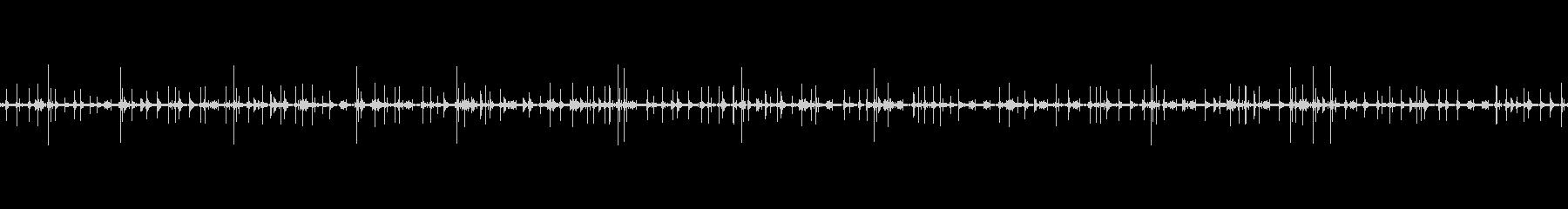 レコードノイズ Lofi ヴァイナル12の未再生の波形