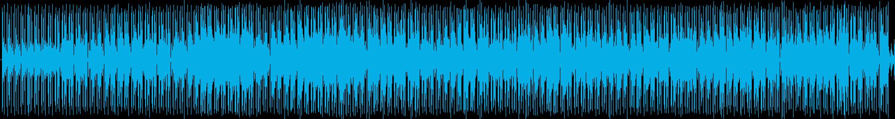 ジャズ・アンビエントテイストなヒップホ…の再生済みの波形