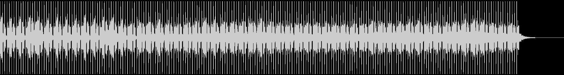 おしゃれなEDMの未再生の波形