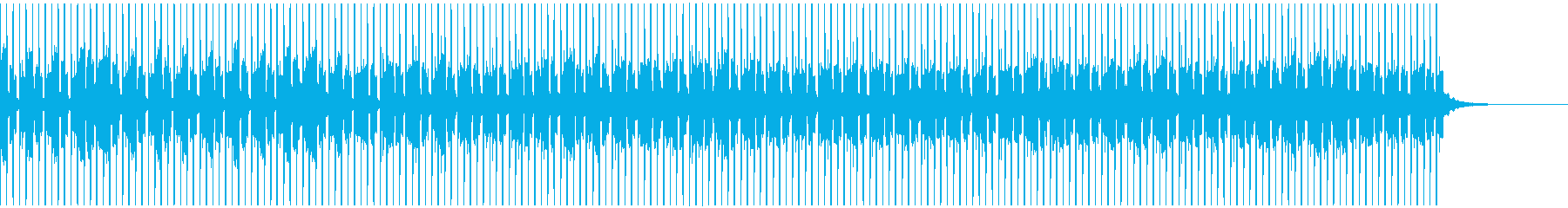 おしゃれなEDMの再生済みの波形