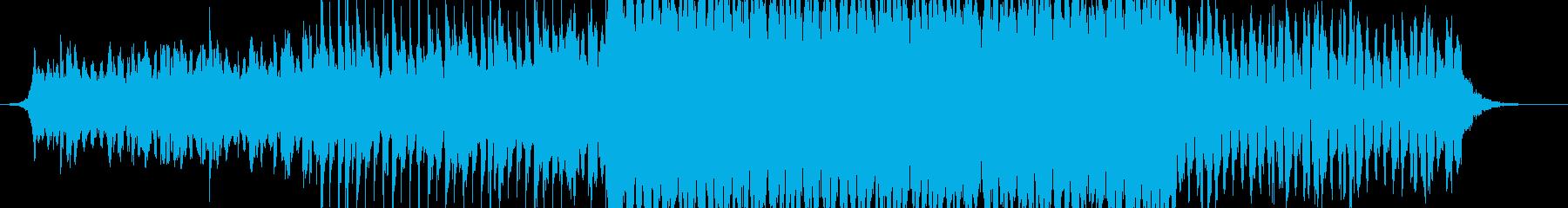 爽やかなEDM調のBGMですの再生済みの波形