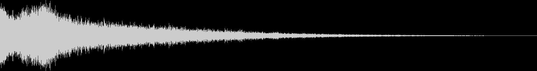 【ホラーゲーム】 シーン 開かれた 02の未再生の波形