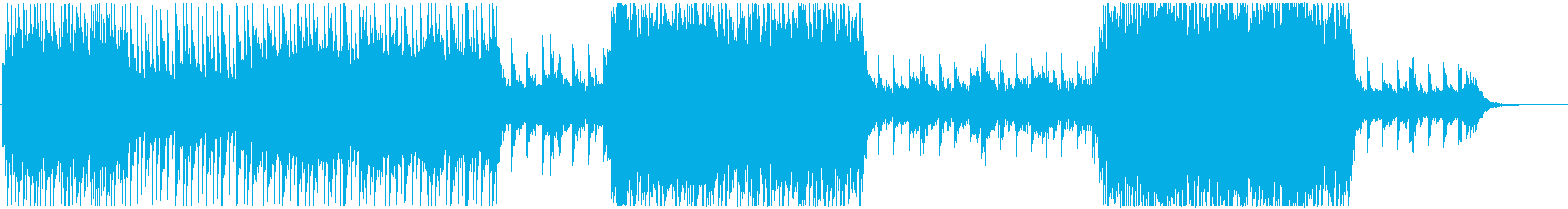 キラキラした暖かく優しいチルアウトBGMの再生済みの波形