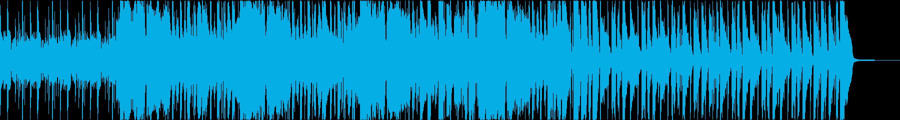 緊迫感のあるファンキーなジャズブルースの再生済みの波形