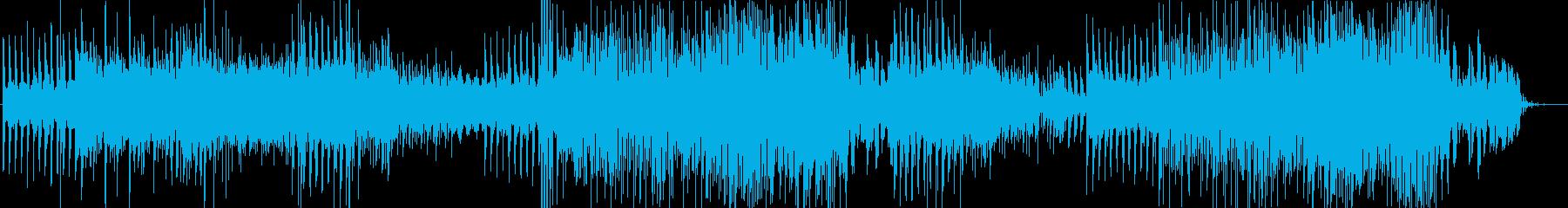風変わりなエレクトロニカの再生済みの波形