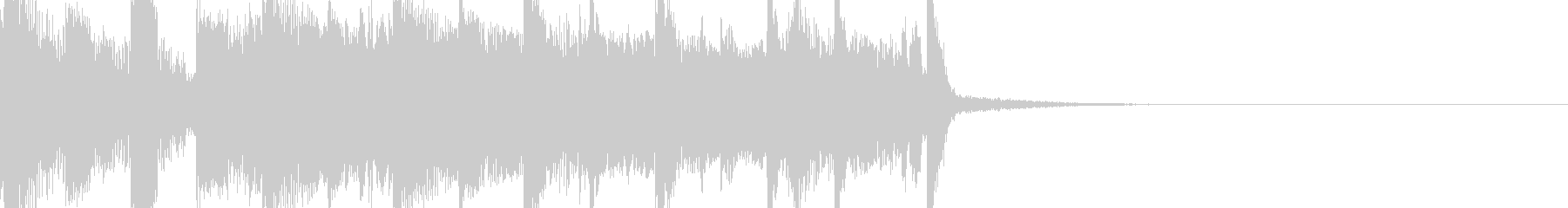 80年代の音楽っぽいファンファーレの未再生の波形