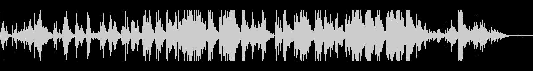 泣ける・感動的な ピアノソロの未再生の波形