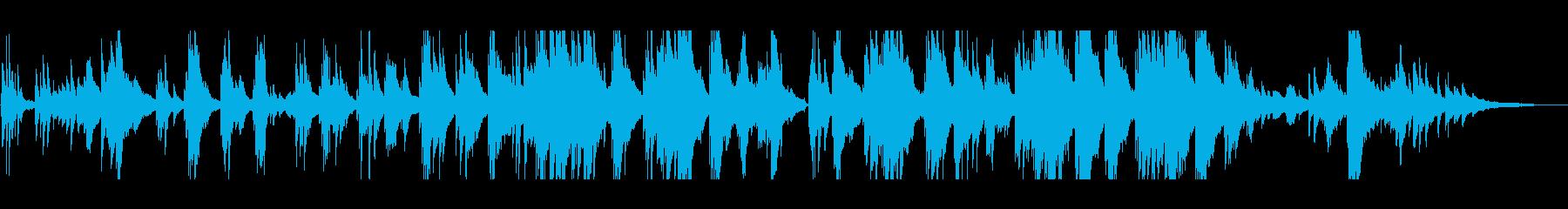 泣ける・感動的な ピアノソロの再生済みの波形
