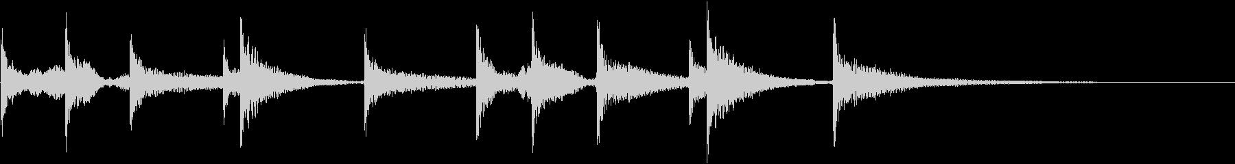 ティンパニ:ロングボーイアクセント...の未再生の波形