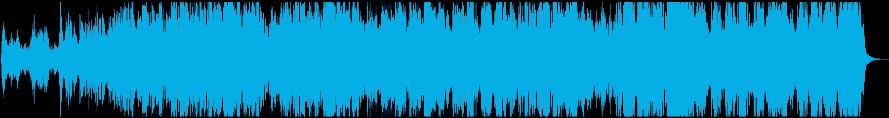 ワーグナー、「地獄の黙示録」で有名な曲の再生済みの波形