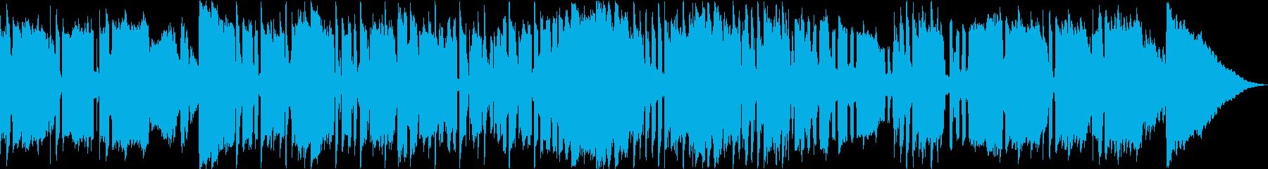 ダブステップとレゲエをテーマにした...の再生済みの波形