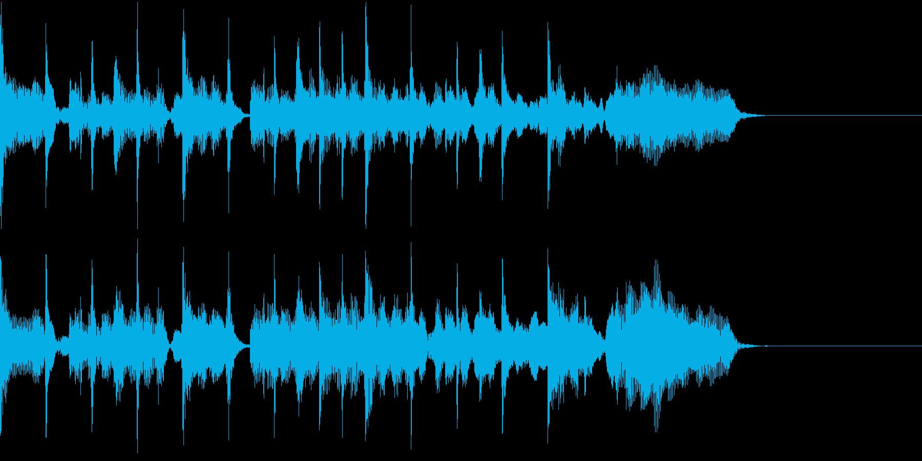 コーナータイトル_ニュース&教育番組系の再生済みの波形