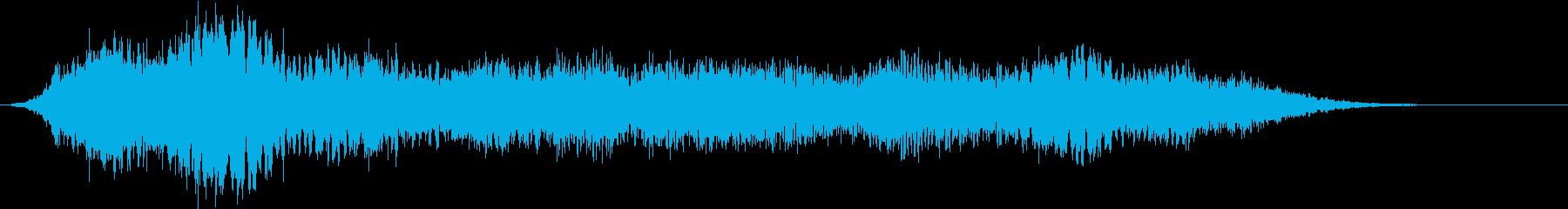 【ダーク】シーン_54 暗闇の再生済みの波形