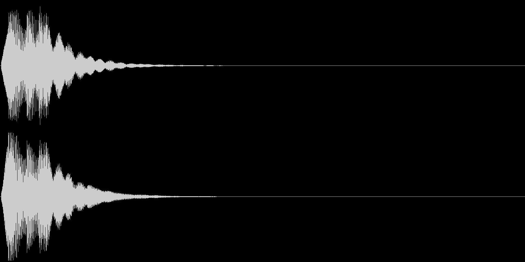 「表示」キャプション/テロップ_002の未再生の波形