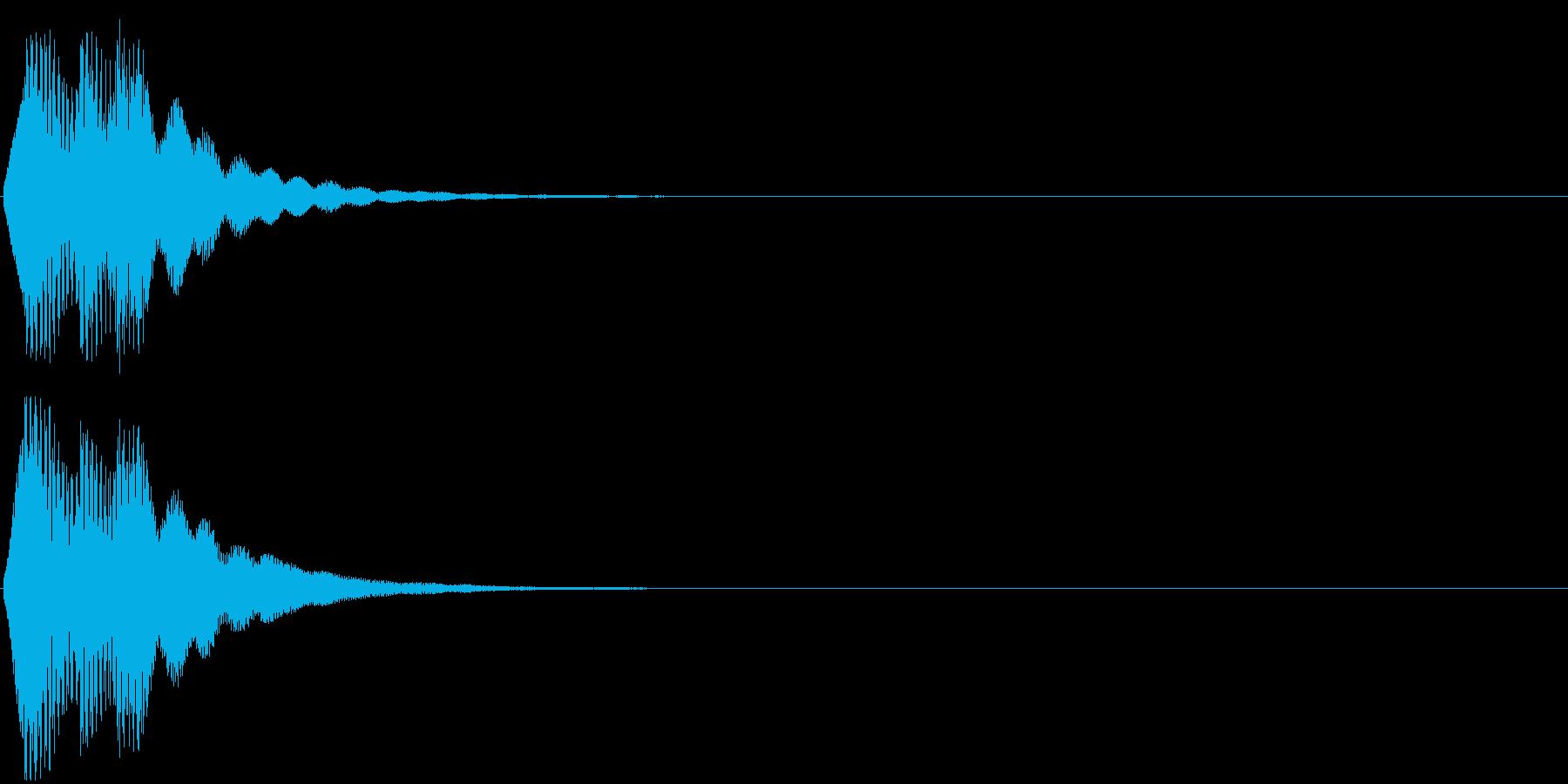 「表示」キャプション/テロップ_002の再生済みの波形