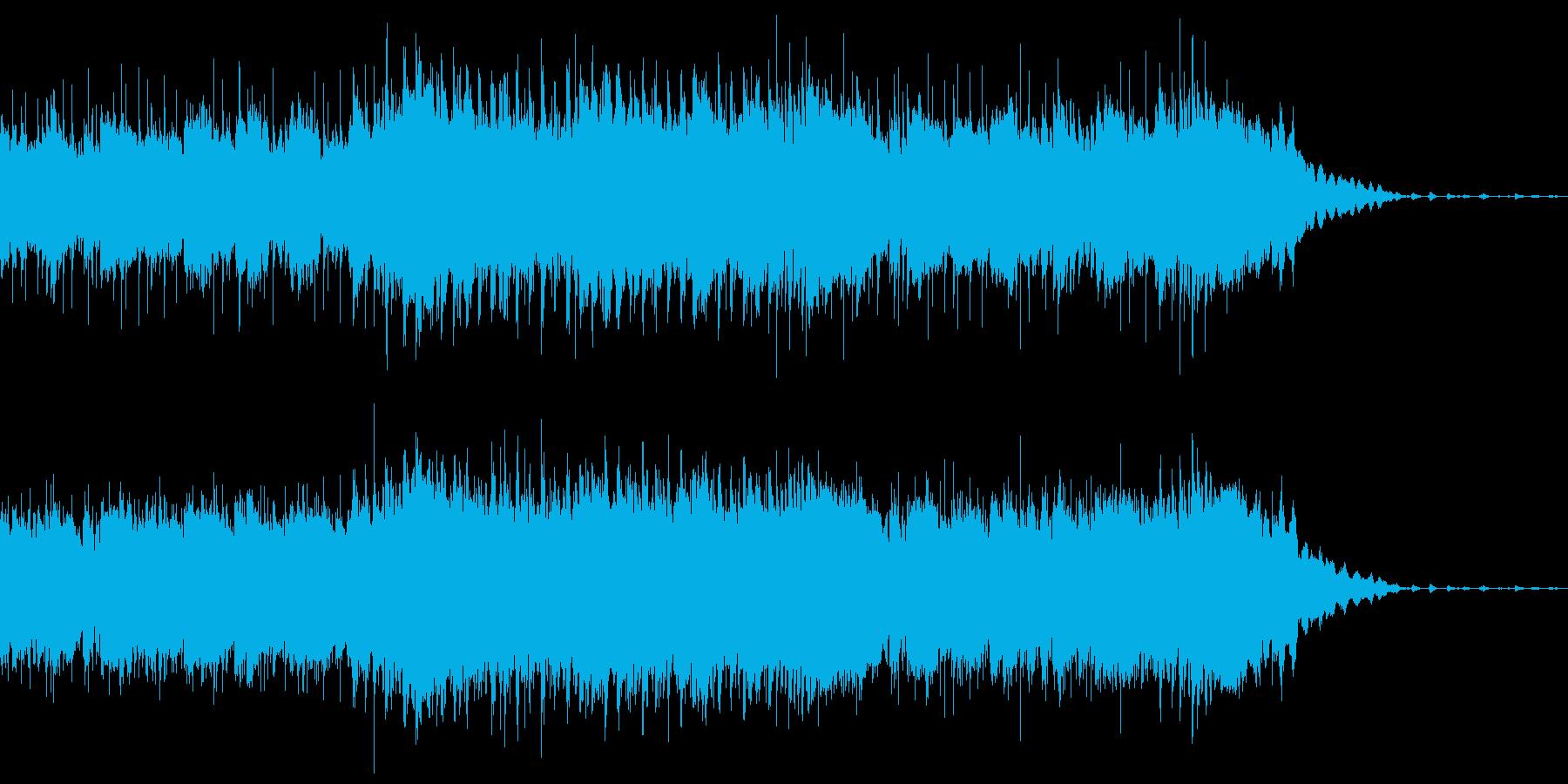 陽気な映像にぴったりな生演奏ブルースの再生済みの波形