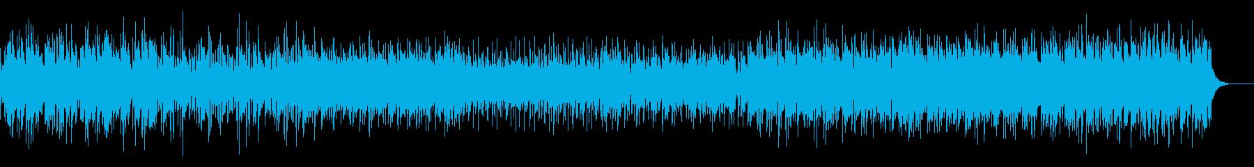 メロディアスで爽やかなシティポップの再生済みの波形