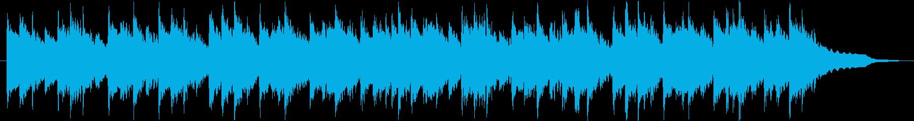 温かい雰囲気のBGM(30ver)の再生済みの波形