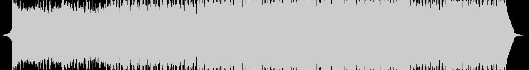 前向き、バトル系BGMの未再生の波形