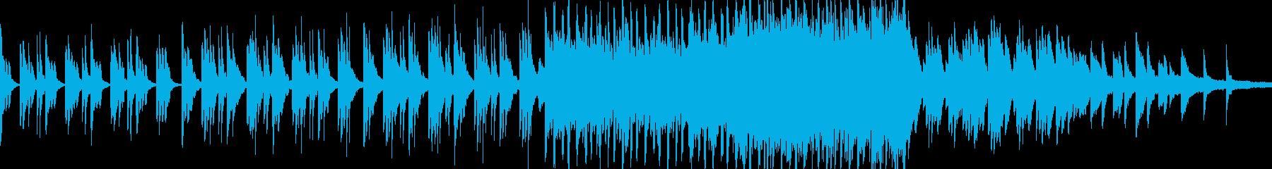 穏やかで神秘的・幻想的なピアノ曲 ループの再生済みの波形