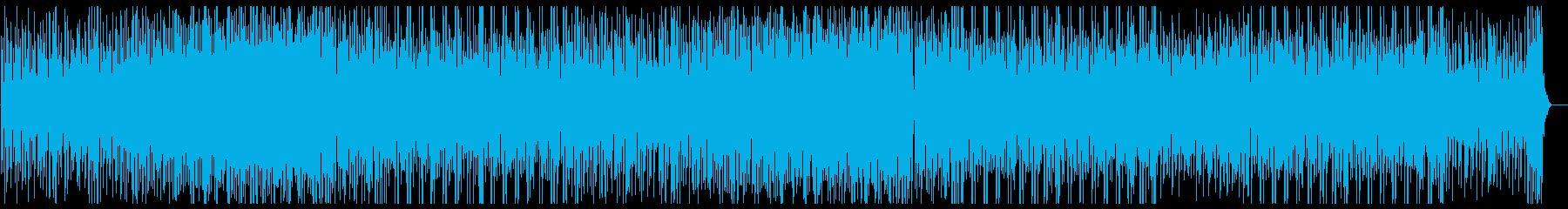 パーカッション・ドラム楽器を贅沢に使用♫の再生済みの波形