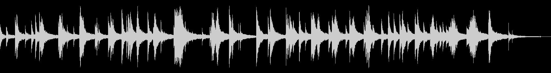 映像・ナレーション用ピアノ演奏(幻想)の未再生の波形