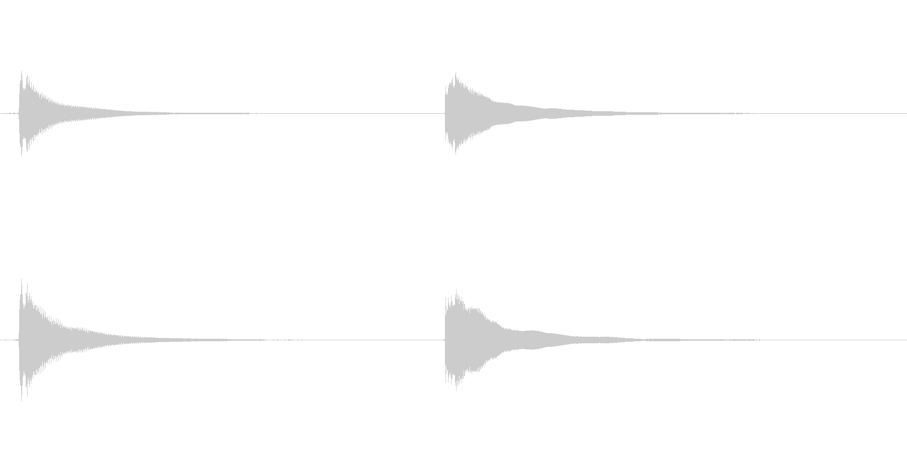 素材 ウエスタンギターコードハイマ...の未再生の波形