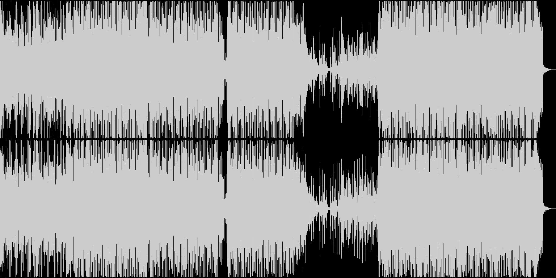 EDM リアル 明るい ピアノ スポーツの未再生の波形