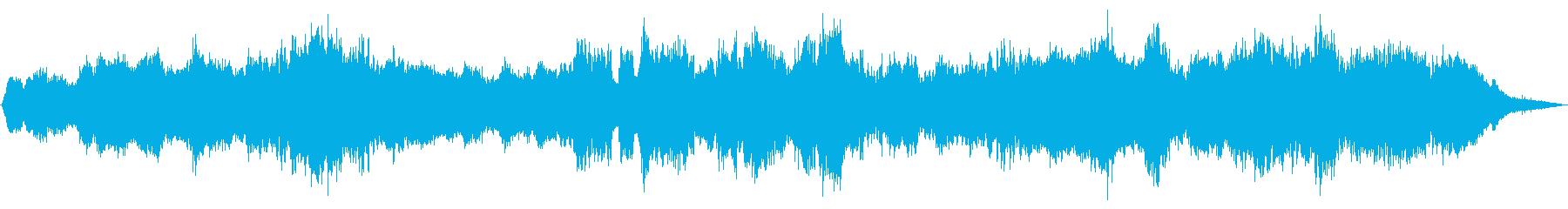 深層まで染み込む癒し系BGM-自然音アリの再生済みの波形