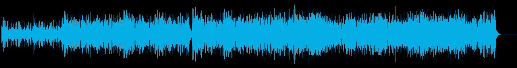 フュージョンテイスト溢れるラテンポップスの再生済みの波形