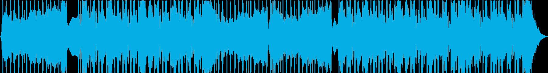スタイリッシュなメロディックロックの再生済みの波形