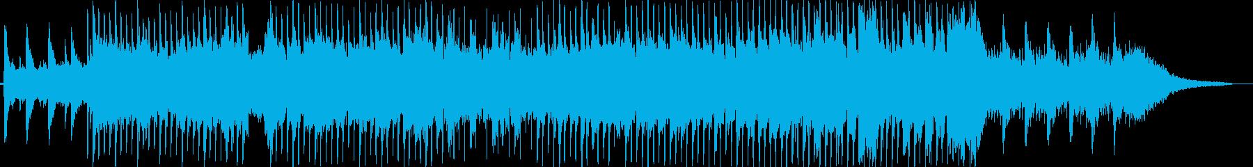 ピアノメインの神秘的な切ないチルアウトの再生済みの波形