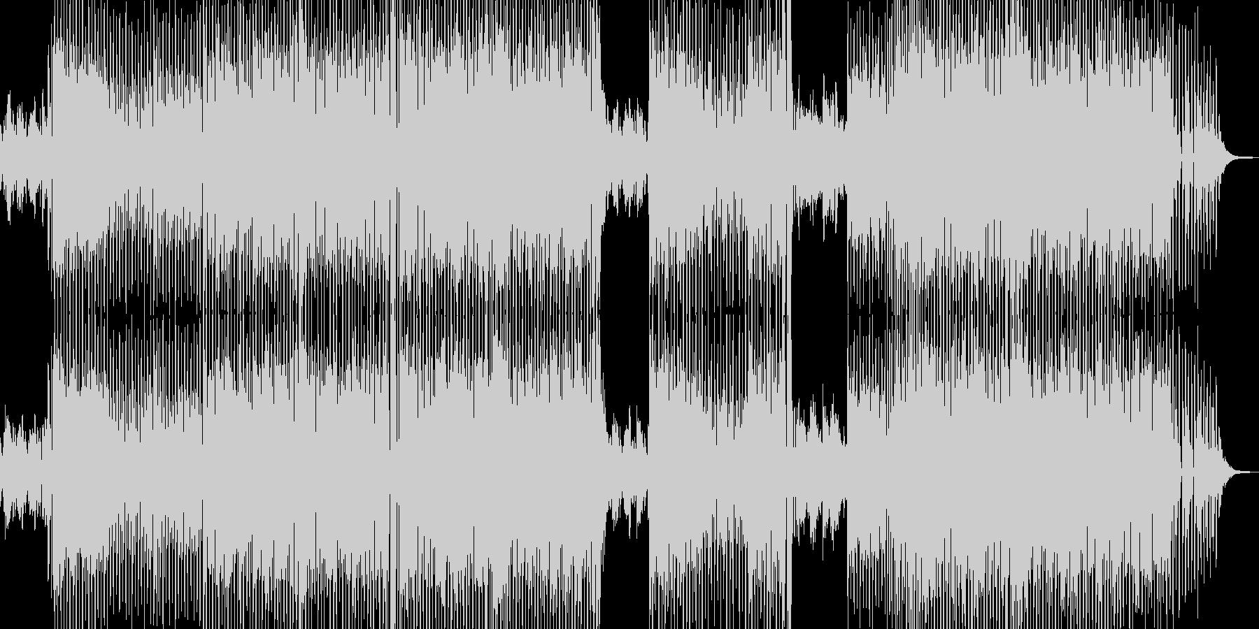 日常 落ち着く映像に適したテクノの未再生の波形