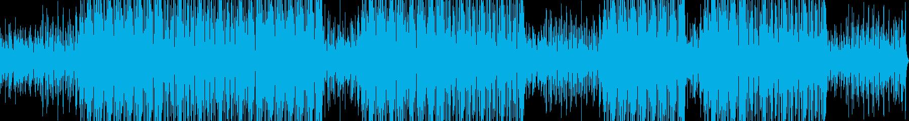 ピアノTRAPの再生済みの波形
