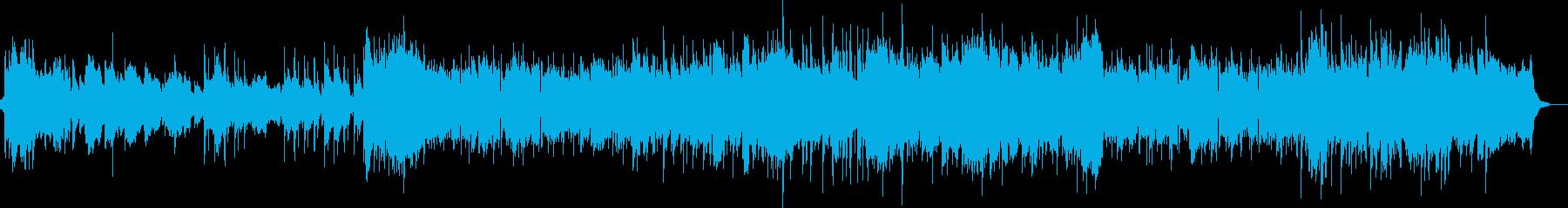 ストリングスの優しくほのぼのとしたオケ の再生済みの波形