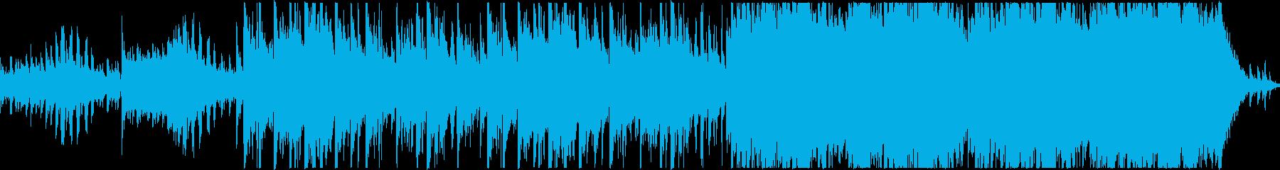 神秘的・壮大な和風ファンタジー曲:ループの再生済みの波形