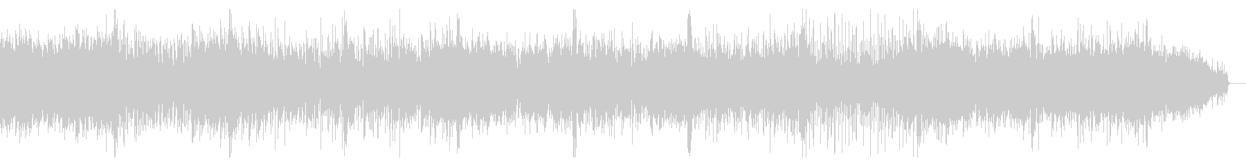 ノイジーなビートのロボティックなIDMの未再生の波形