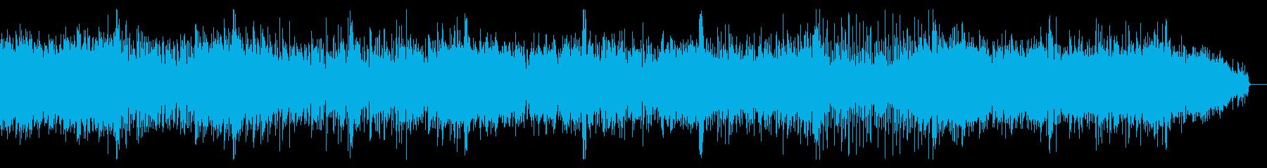 ノイジーなビートのロボティックなIDMの再生済みの波形