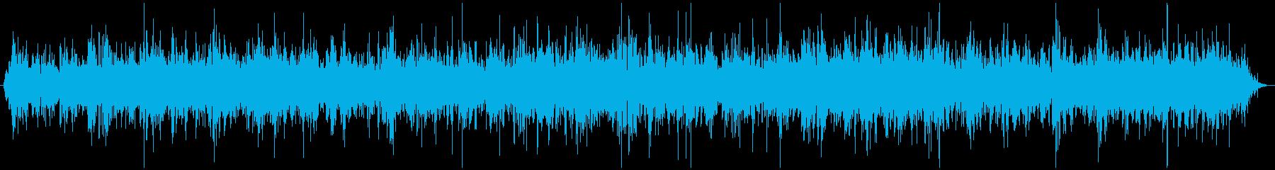 煮えたぎるマグマの音 ゴボゴボの再生済みの波形