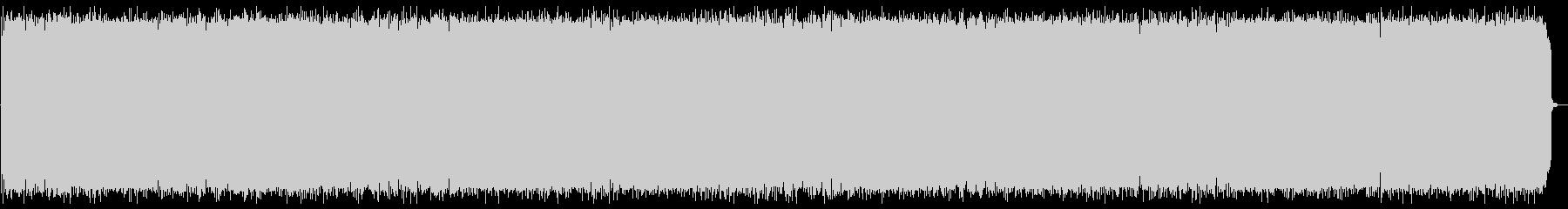 切ない旋律のテクノポップの未再生の波形