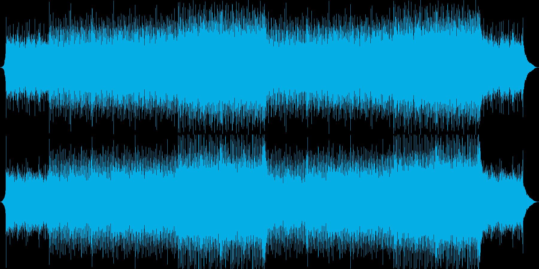 企業VP系55、爽やかピアノ&ギターaの再生済みの波形