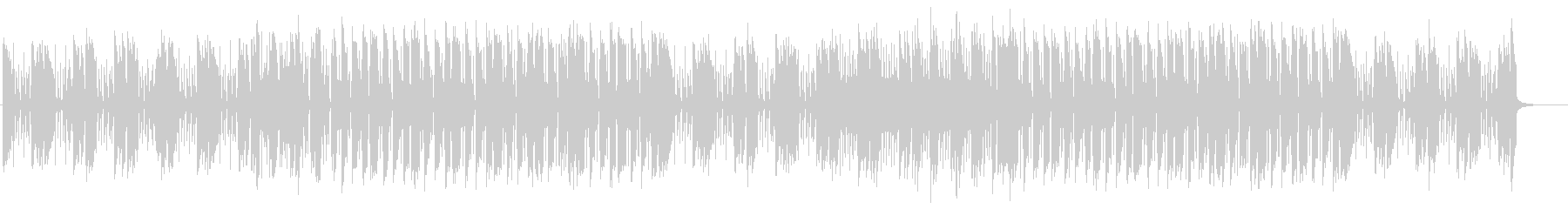 ドタバタ、ちょっとしたケンカのBGMの未再生の波形