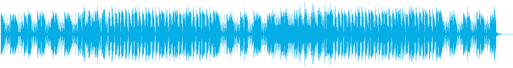 ドタバタ、ちょっとしたケンカのBGMの再生済みの波形