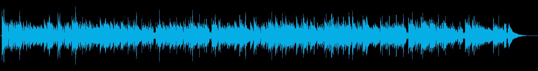 穏やかなアコギ 物静かな 力強い意志の再生済みの波形